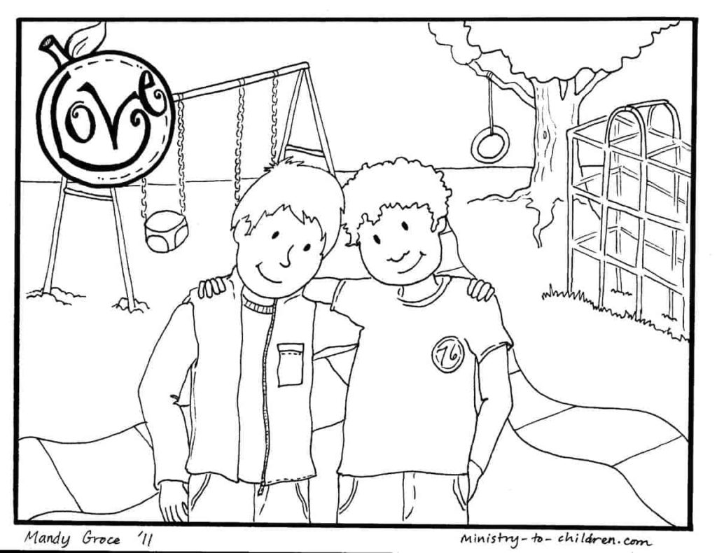 Christian Valentines Day Coloring Pages about Love (100% Free)
