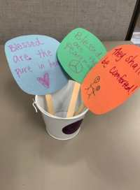 childrens ministry crafts on the beatitudes