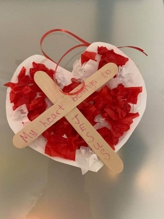 """Craft Two: """"Christ in my Heart"""""""