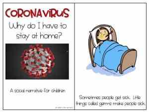 FREE Coronavirus Social Narrative for Children