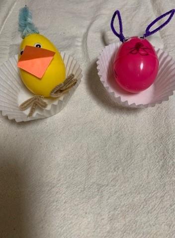 Easter Buddies Craft Idea