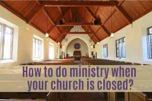 online ministry options for children's church