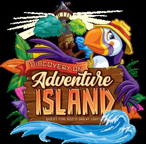 Cokesbury VBS 2021 theme Adventure Island