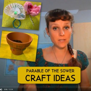 Parable of the Sower Craft Ideas