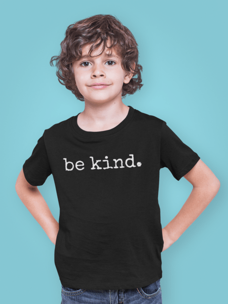 Be Kind Christian T-Shirt on Black
