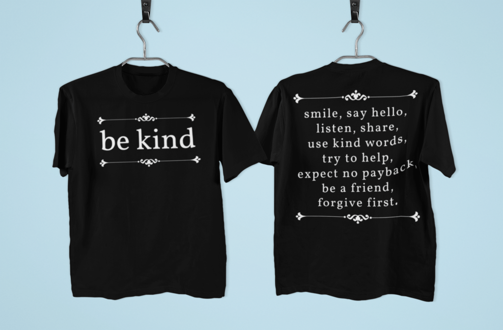 Be Kind Definition Christian T-Shirt