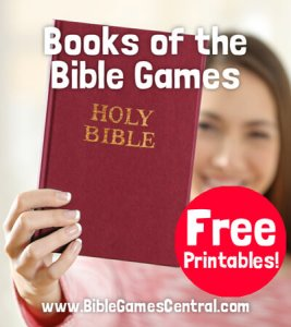 Bible printable game ideas