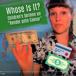 render unto Caesar children's sermon