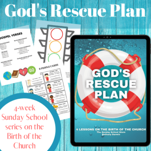 God's Rescue Plan Curriculum