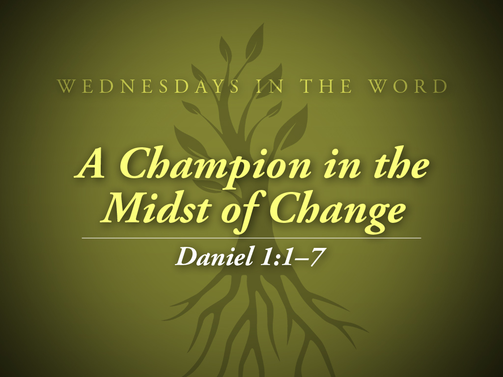 Wednesday S In The Word Green Ministry127