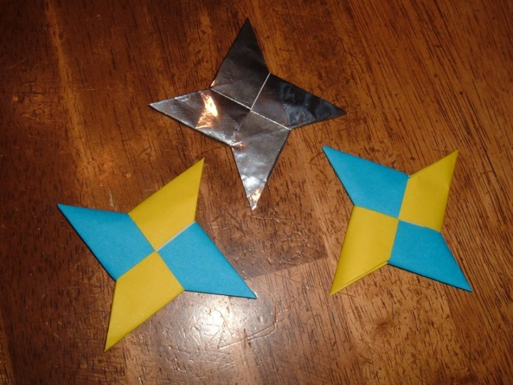 Origami Throwing Stars Ministry 2 Kids