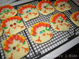 Turkey Cookie 2