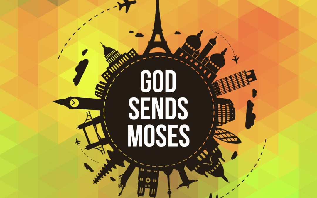 'God Sends Moses' Sunday School Lesson (Exodus 14)