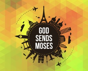 'God Sends Moses' Sunday School lesson