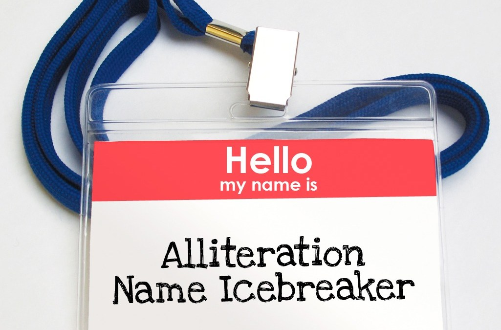 'Alliteration Name Icebreaker' Game