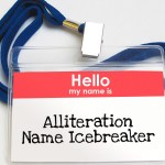 'Alliteration Name Icebreaker' Game