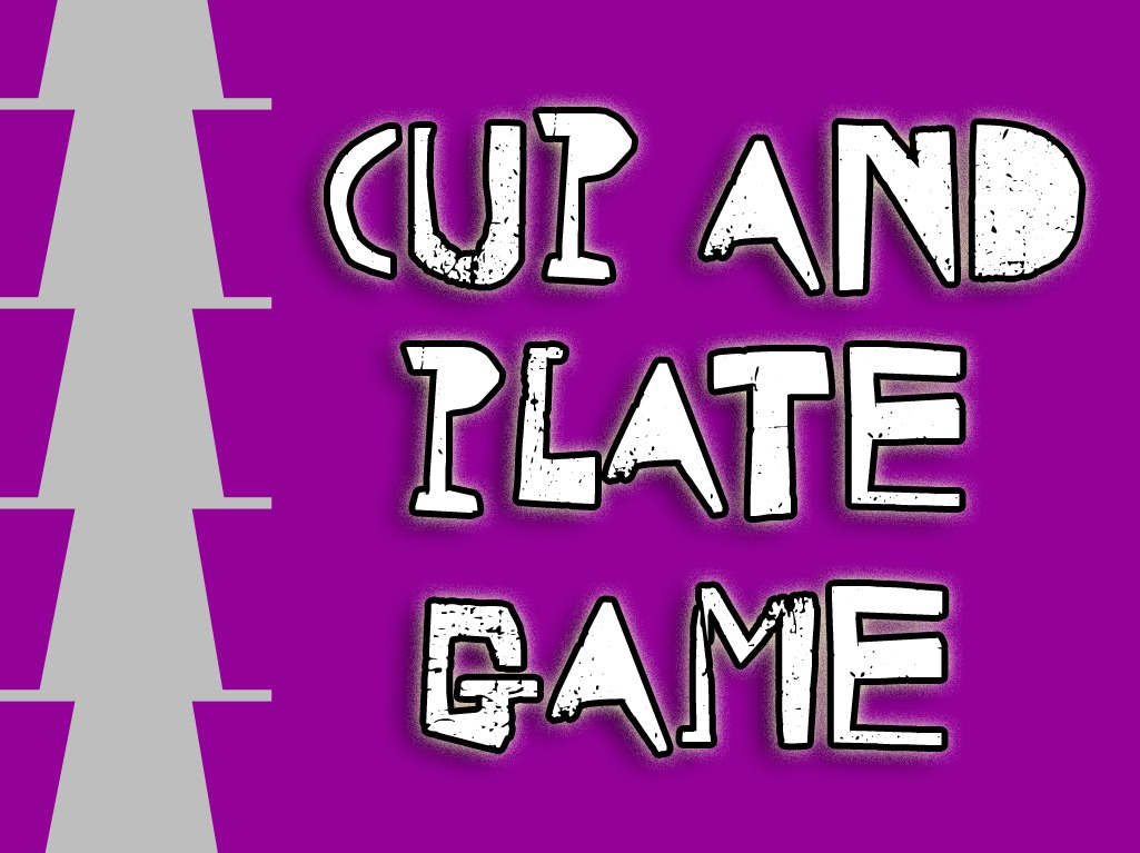 'Cup and Plate' game