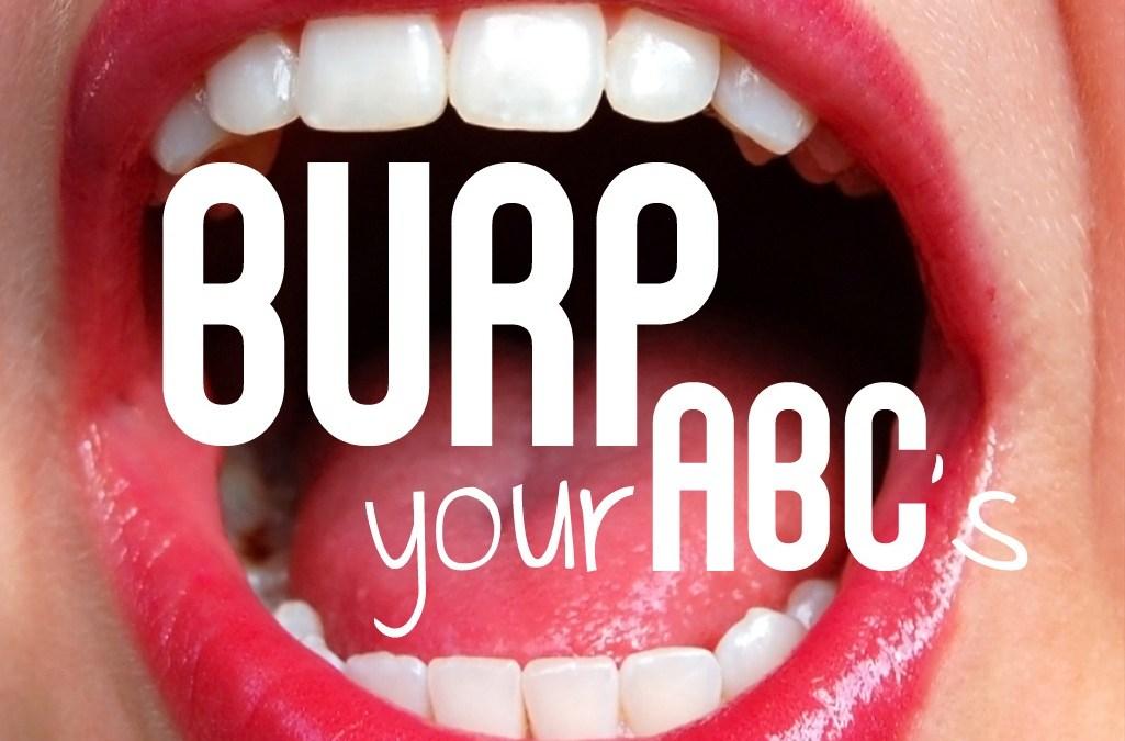'Burp Your ABCs' Game