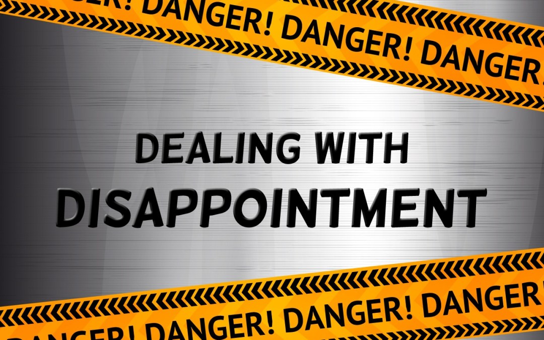 'Dealing with Disappointment' Sunday School Lesson (Exodus 6:1-12)