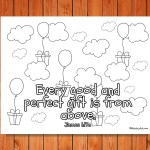 'Every Good and Perfect Gift' Printable