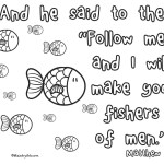 'Fishers of Men' Printable (Matthew 4:19)