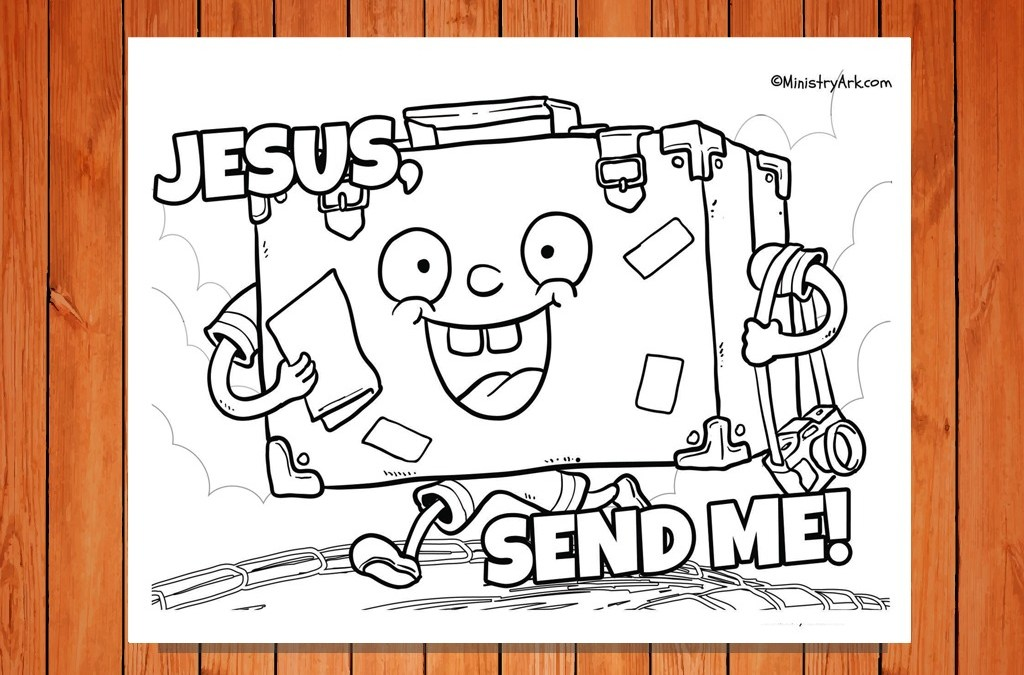 'Jesus, Send Me' Printable