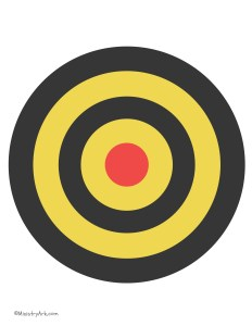 Red Yellow Black Target