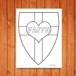 'Shield of Faith' Printables
