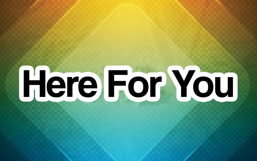 'Here For You' Song Lyric Stills