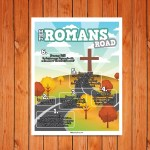 'Romans Road' Childrens Poster