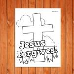 'Jesus Forgives' Printable