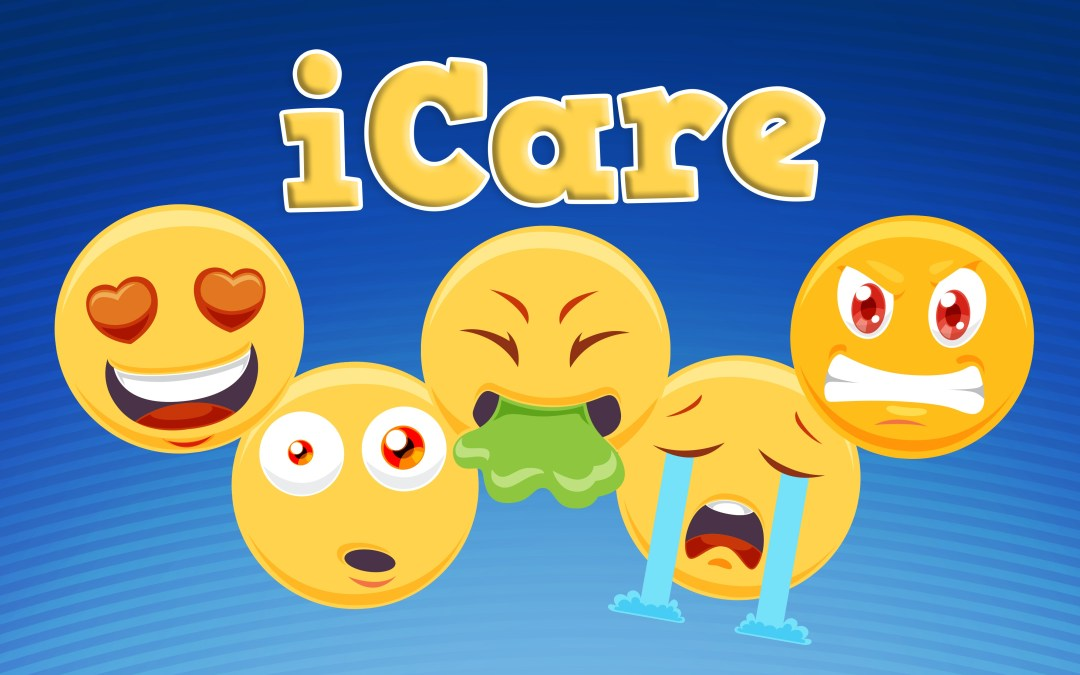 'iCare' Emoji Childrens Teaching Series or VBS