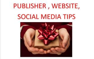 Publisher, Websites & Social Media Tips