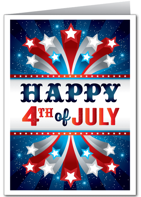 Fourth Of July Ministry Greetings Christian Cards