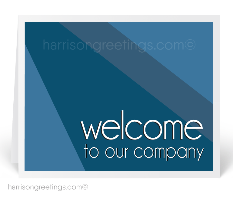 Welcome To Our Company Greeting Card 1243 Ministry