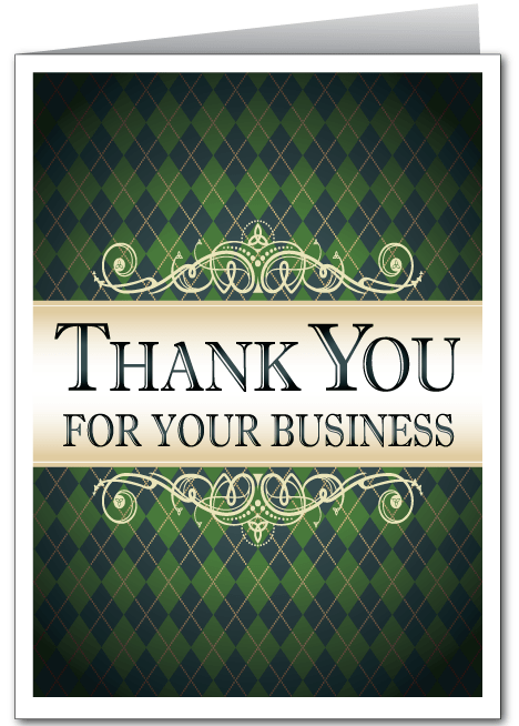 Business Thank You Card 3579 Ministry Greetings