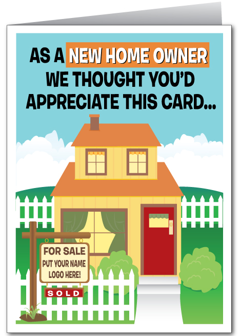 Congratulations On Your New Home Realtor Card 15213