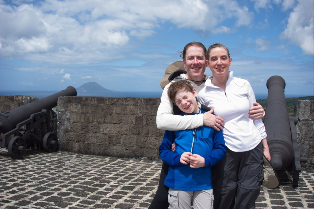 Hoxey family on the island nation of St. Kitts