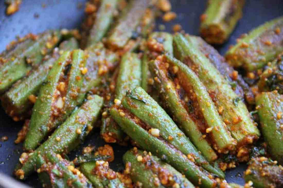 stuffed okra - ready