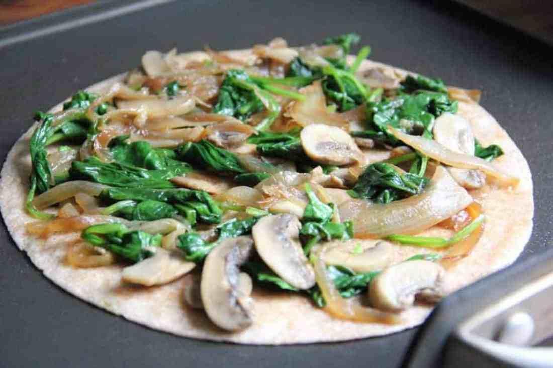 Spinach Quesadilla Recipe Food Network