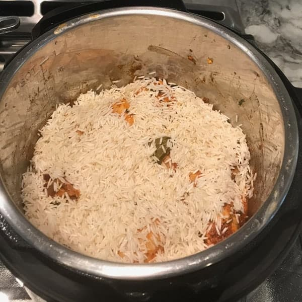 Chicken Biryani Instant Pot