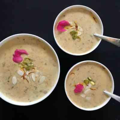 Sheer Khurma – Instant Pot