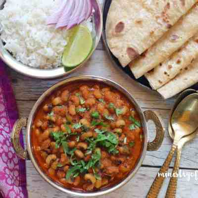 Black Eyed Peas Curry and Rice – Instant Pot