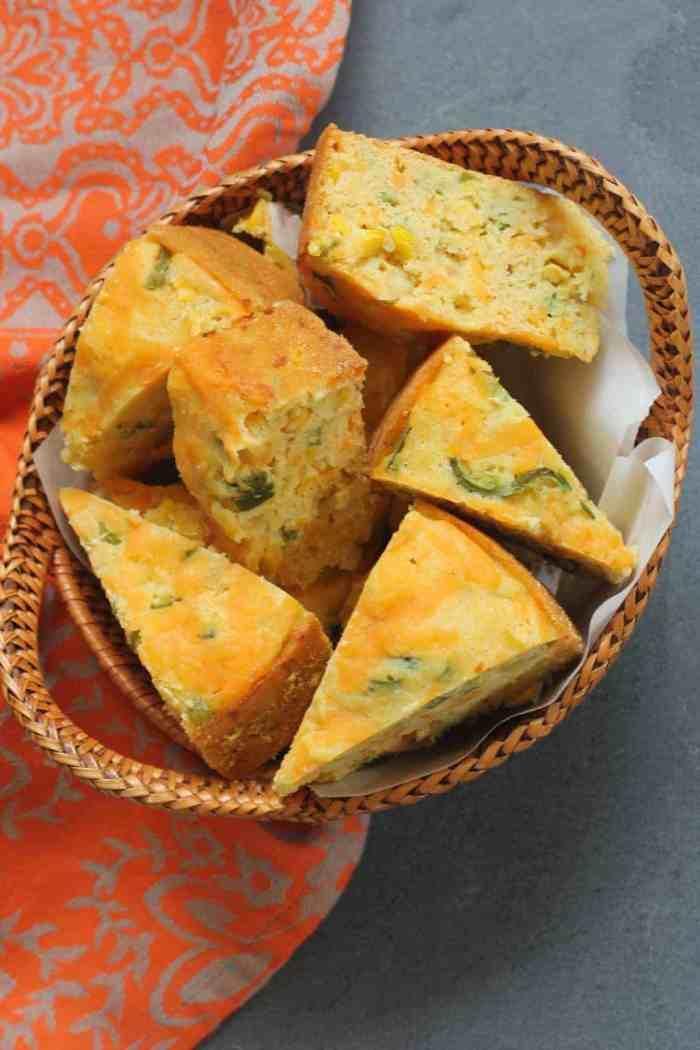 Jalapeño Cheddar Cornbread – Instant Pot