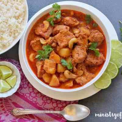 Thai Chicken Massaman Curry – Instant Pot