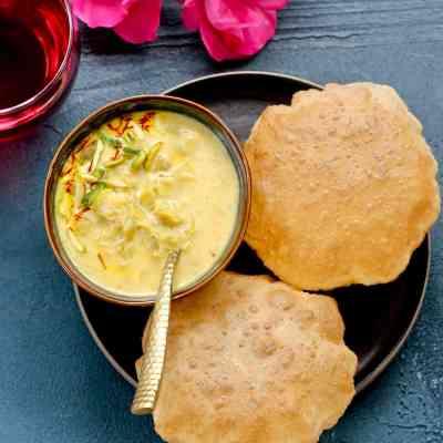 Dudhi Basundi {Sweet Thickened milk} – Instant Pot