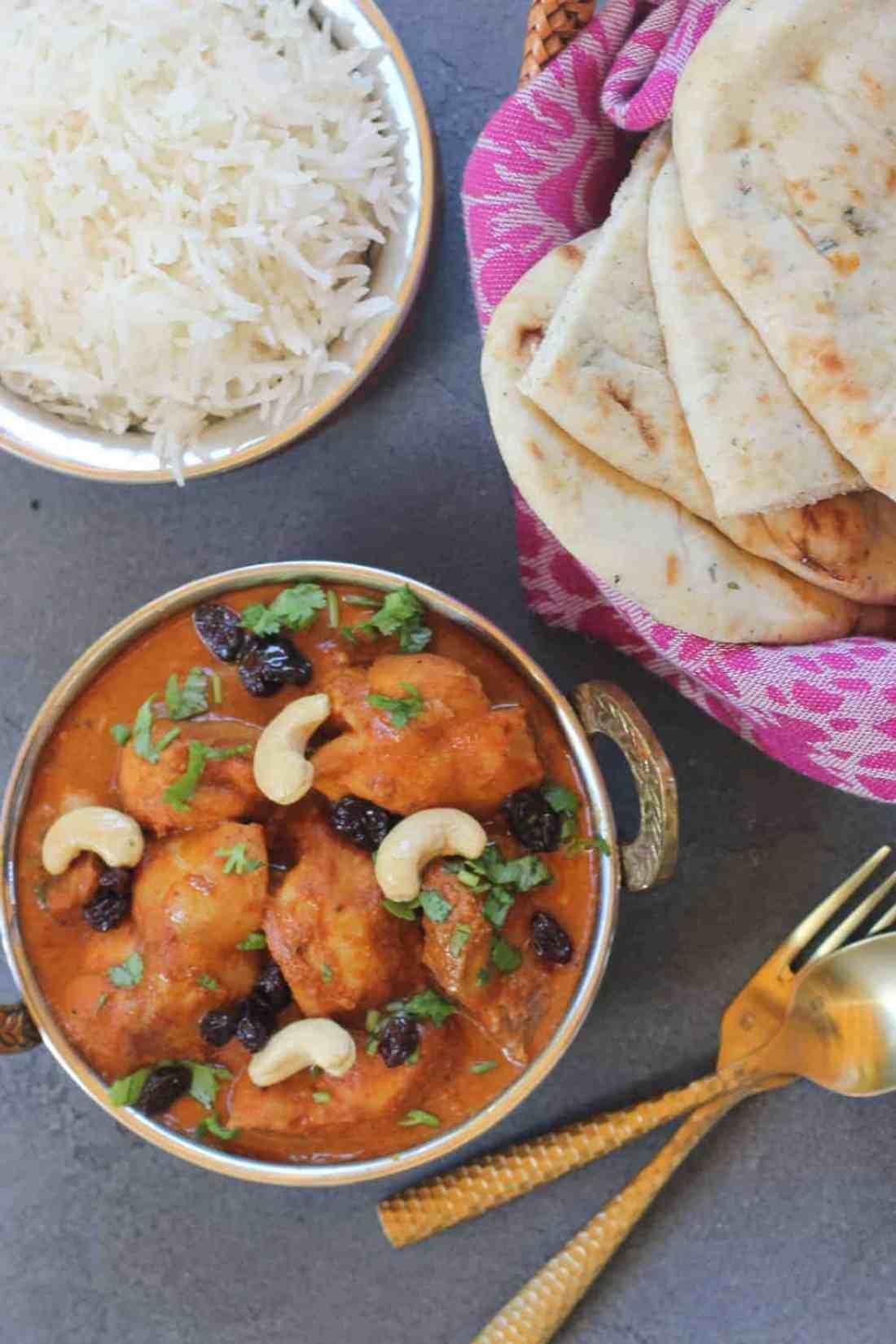 Shahi Chicken Korma