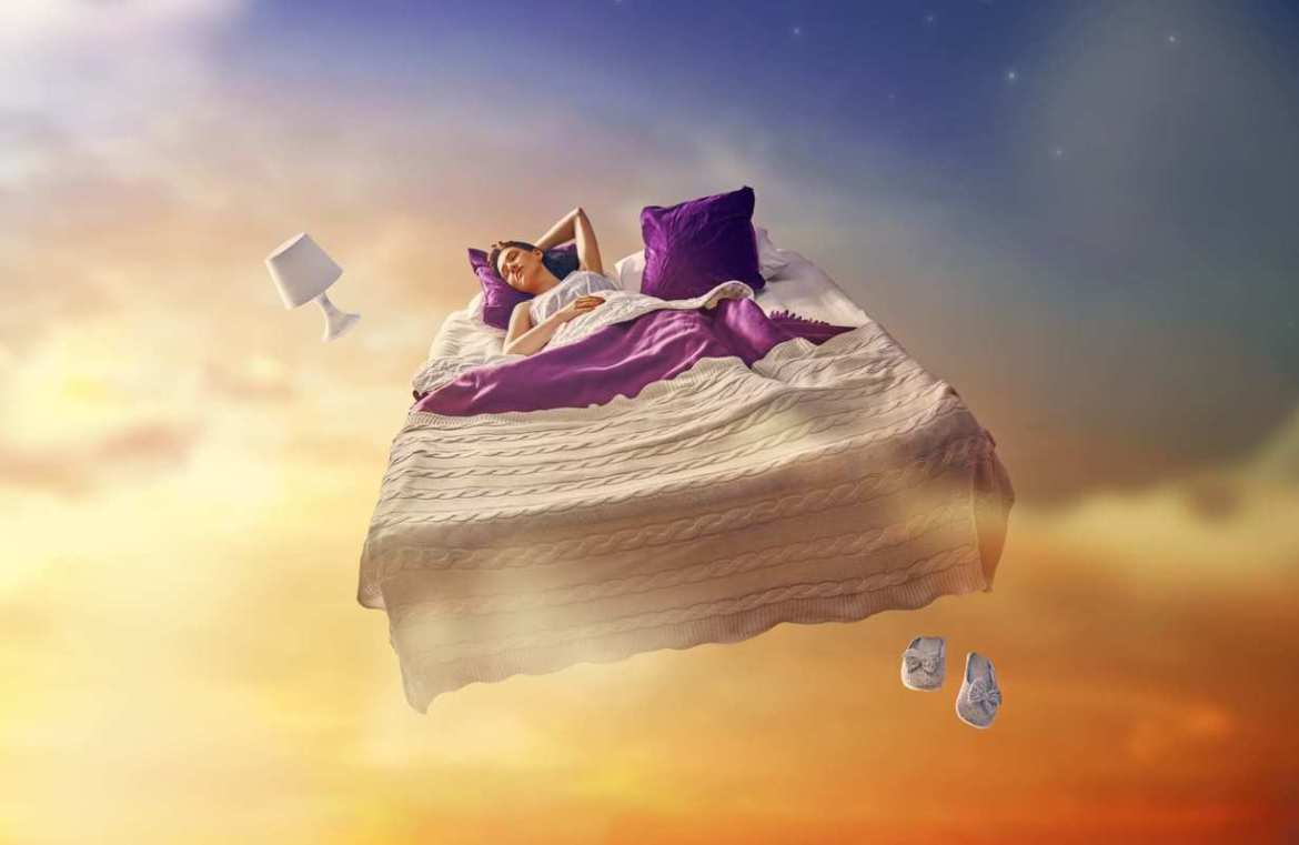 CBD may promote restful sleep, and is less likely than THC to cause nightmares or other weird dreams.