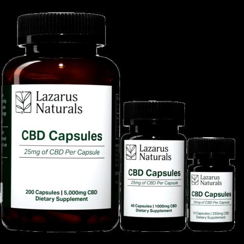 Lazarus Naturals CBD Capsules (Ministry of Hemp Top CBD Capsules)