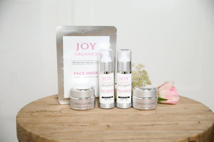Joy Organics Skin Care Products (Ministry Of Hemp Official Valentine's Day CBD Gift Guide)